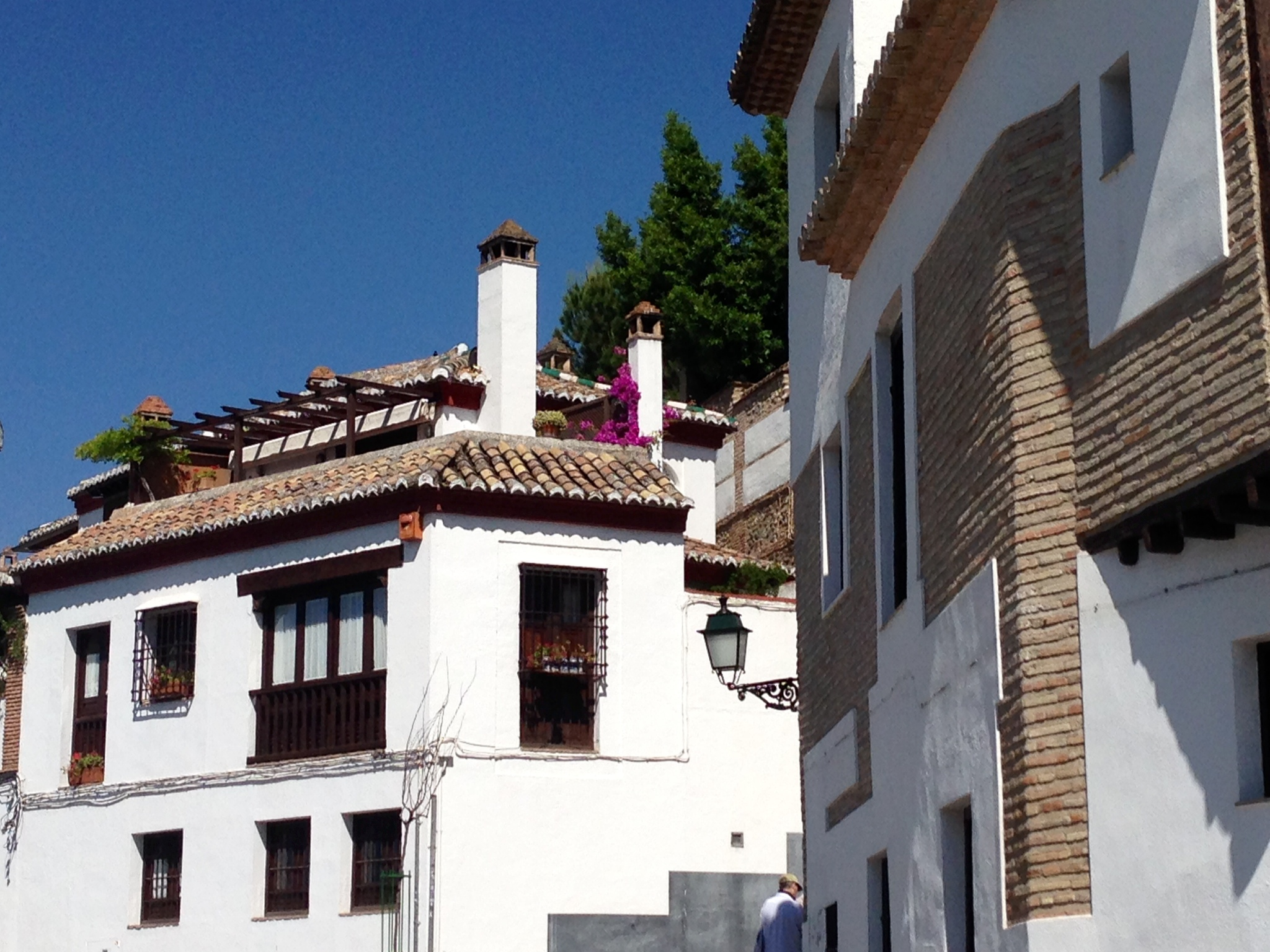 exterior of Andalusian homes