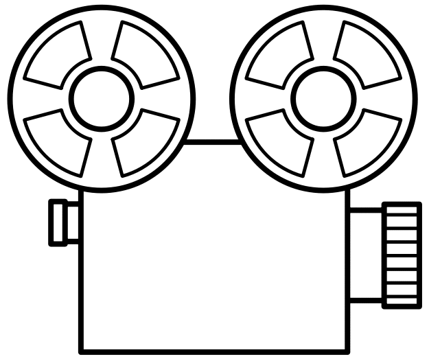clipart of video camera