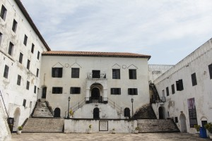 Inside Elmina Castle, Ghana, Central Region