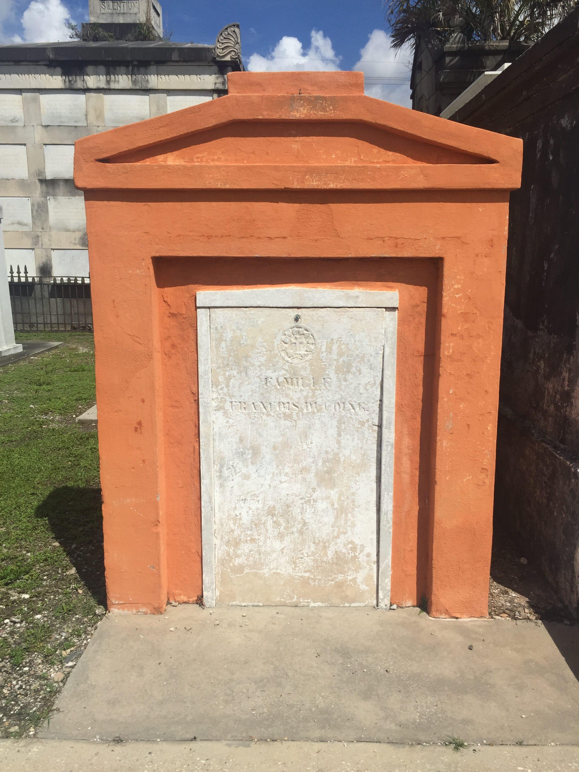 orange tomb