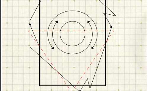 diagram on graph paper